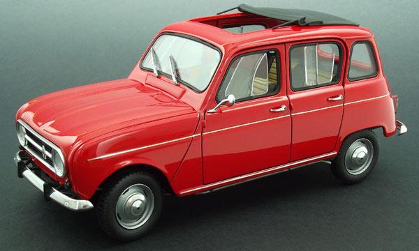 t2m maquette voiture ebbro renault 4l. Black Bedroom Furniture Sets. Home Design Ideas