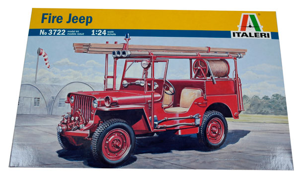 t2m maquette voiture italeri jeep willys pompiers. Black Bedroom Furniture Sets. Home Design Ideas