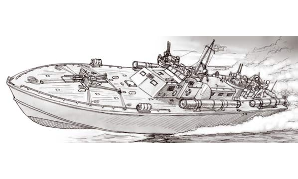 bateau Italeri MTB PT-109 J. F. Kennedy