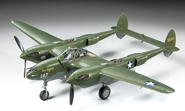 avion Tamiya Lockheed P-38 F/G Lightning