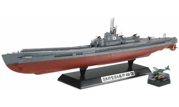 t2m maquette bateau tamiya sous marin japonais i 400. Black Bedroom Furniture Sets. Home Design Ideas