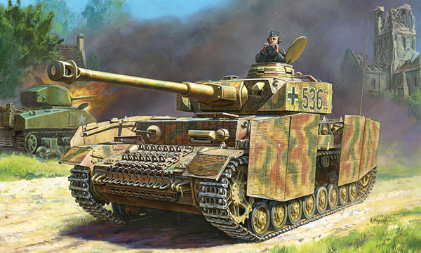 militaire Zvezda Panzer IV Ausf.H